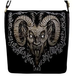 Krampus Nacht Messenger Flap Bag