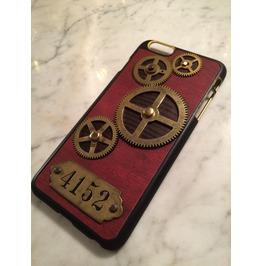 Igearz Apple Iphone 6 Plus Steampunk Neo Victorian Case Brass Gears Spin