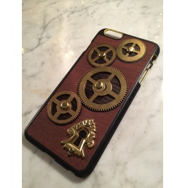 Igearz Hand Made Apple Iphone 6 Plus Steampunk Neo Victorian Case Brass