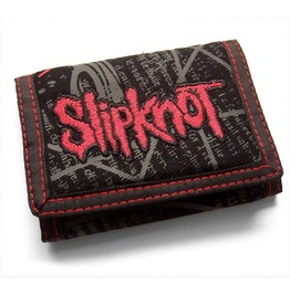 Slipknot Wallet Official Embroidered Logo