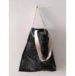 2 Side Spider Print Fashion Pop Rock Tote Bag