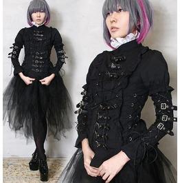 Industrial Steampunk Leather Strap Egl Elagent Gothic Lolita Aristocra Punk
