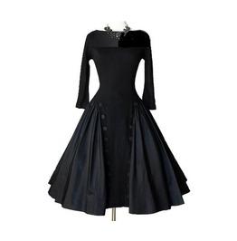 Gothic Retro Open Back Dress Tbb 11432853 Read Full Desc. B4 U Buy