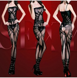 Hot Cyber Style Body Stocking One Size
