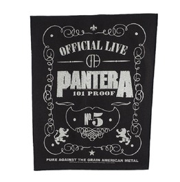 Pantera Giant Back Patch Sew 101 Proof