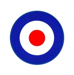 Mod Target Giant Back Patch Sew On