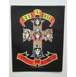 Guns N Roses Giant Back Patch Sew On Appetite For Destruction