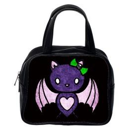 Hello Batty Hand Bag Two Side