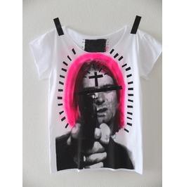 Kurt Cobain Grunge Rock Diy Punk Pop Art Unisex T Shirt, S Size