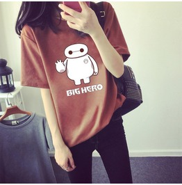 Baymax T Shirt Camiseta Wh056