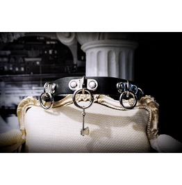 Steampunk Bdsm Submissive Leather Collar Dom Dominant Slave Gothic Grunge