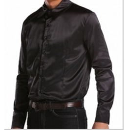 Hot Unisex Long Sleeve Satin Shirt Eu000015 Cn Read Sizing Info. B4 U Buy!
