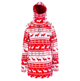God Jul Women's Hoodie With Replaceable Mask
