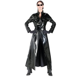 Glam Pvc Vinyl Rain Coat X637 Qs Please Scroll Down And Read Desc. B4 U Buy