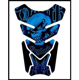 Motografix Tankpad Death Industries Skull Sticker Motorbike Body Protection