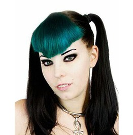 Lunatik Hair Dye : Absinthe Green : Long Lasting, Demi Permanent, Vegan