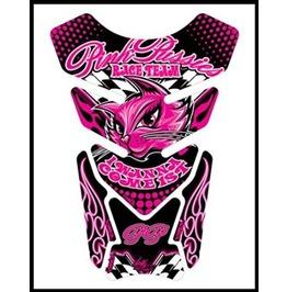 Motografix Pink Pussies Race Team Tankpad Motorbike Body Protection Pink
