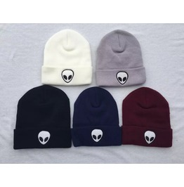 Women Men Knit Crochet Slouch Hat Cap Beanie Hip Hop Hat Solid