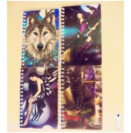 Lisa Parker 3 D Notebooks