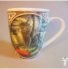 Black Cat Mug (Lisa Parker Design)