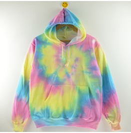 New Arrival Tie Dyed Sport Women Harajuku Hoodies