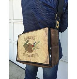 Student Big Benga Print Benga Rabbit Messenger Bag