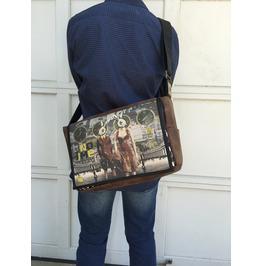 Student No Time Print Benga Rabbit Messenger Bag