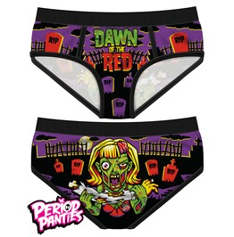Dawn Of The Red Period Panties By Harebrained