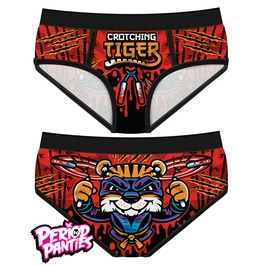 Crotching Tiger Period Panties By Harebrained