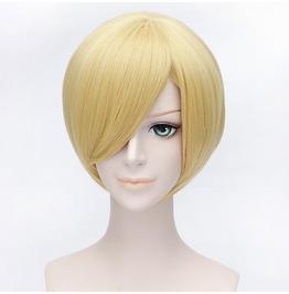 Light Golden Short Wig