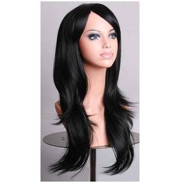 Raven Long Black Synthetic Scene Wig