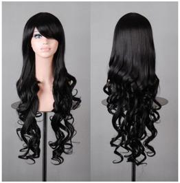 Vixen Black Long Synthetic Scene Wig