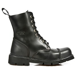 New Rock High Quality M.Newmili083 S Black Combat Military Boot