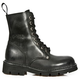 New Rock Mili084 S1 High Quality Leather Combat Military Boot $26 To Ship