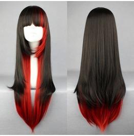 Cherry Coke Long Bang Scene Wig Straight