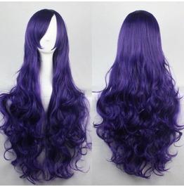 Violent Violet Long Synthetic Scene Wig