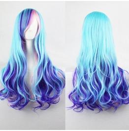 X X Blueberry Crushed Xx Scene Wig
