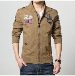 Men's Army Military 's Army Outdoors Jacket Mens Bomber Jacket