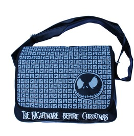 Nightmare Before Christmas Messenger / Shoulder Bag Jack Black Cat