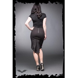 Black Fishtail Metal Carabiner Clip Pencil Skirt $9 Worldwide Shipping