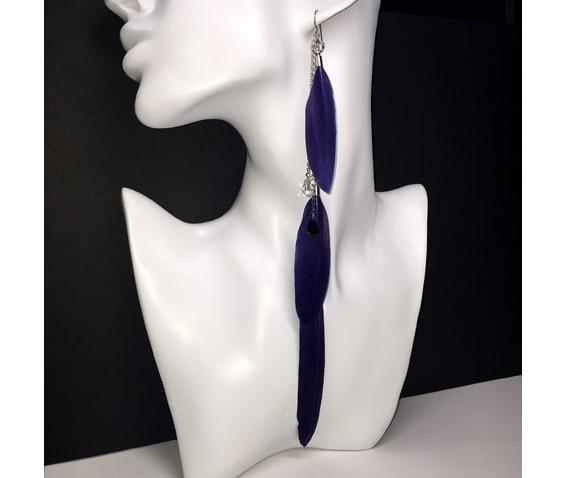 blue_feathers_clear_black_swarovski_crystal_chain_fringe_single_long_earring_earrings_4.jpg