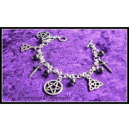 Pagan Themed Charm Bracelet