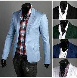 Men's Korean Style Casual Brazer