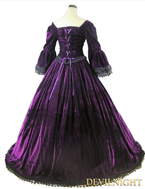black victorian ball gown - photo #28