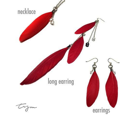 feather_and_teardrop_crystal_single_long_earring_red_earrings_3.jpg