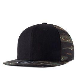 8590b1d5c6a Camouflage Reggae Hip Hop Cap Unisex Sliding Plate Baseball Cap 201