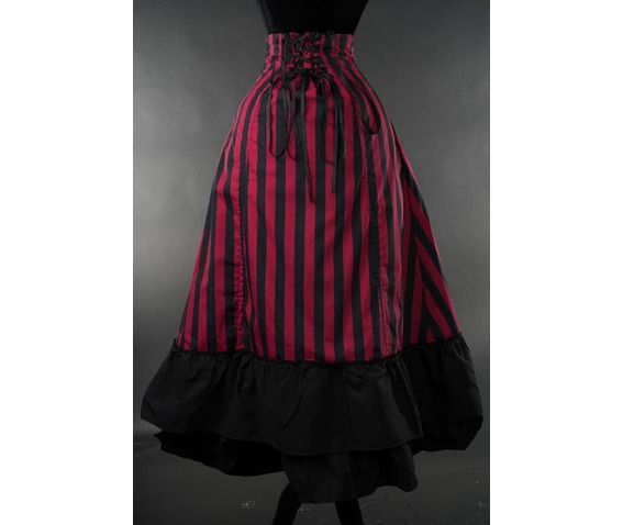 red_black_striped_2_layer_bustle_gothic_victorian_pirate_skirt_9_to_ship_skirts_4.jpg