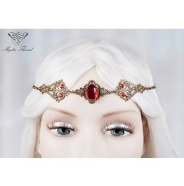 Ruby Gem Elven Circlet