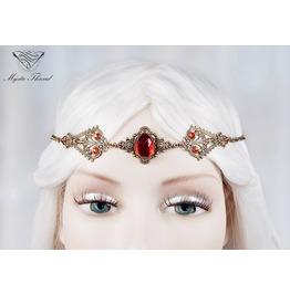Ruby Gem Elven Circlet