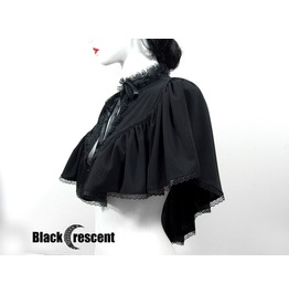 Black Cape,Bolero, Gothic, Vampire, Burlesque,Vintage, Victorian, Wedding